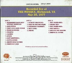 Grateful Dead Dave's Picks 1 Vol One Mosque Richmond 5/25/1977 3 CD Limited Ed
