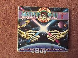 Grateful Dead Dave's Picks 1 Volume One Mosque Richmond 5/25/1977 Star Wars 3 CD