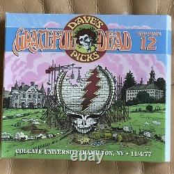 Grateful Dead Dave's Picks 12 Colgate University NY 11/4/1977 3CD Brand New Rare