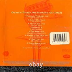 Grateful Dead Dave's Picks 18 2016 4CD + Bonus 1976 Orpheum S. F. CA NewithSealed