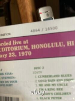 Grateful Dead Dave's Picks 19 Honolulu Hawaii HI 1/23/1970 3 CD 4864/16500