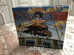 Grateful Dead Dave's Picks 2 Volume Two 3 CD withBonus Disc FREE PRIORITY SHIPPING