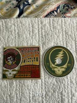 Grateful Dead Dave's Picks 2012 Bonus Disc 1 Cds Landover MD 7/29/74 NM