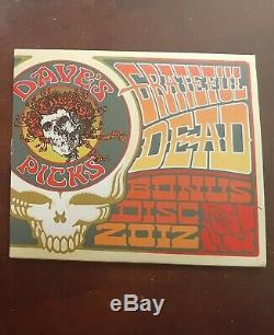 Grateful Dead Dave's Picks 2012 Bonus Disc CD Capital Centre 7/29/74 Landover MD
