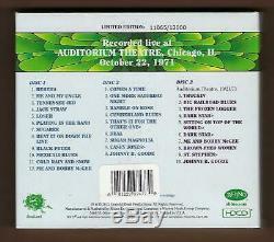 Grateful Dead Dave's Picks 2012 Vol. 3 Chicago, IL 10/22/71 Brand NewithSealed OOP