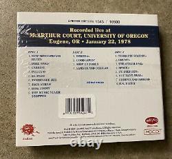 Grateful Dead Dave's Picks 23 Twenty-Three McArthur Court Eugene OR 1/22/78 NEW