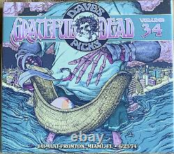 Grateful Dead Dave's Picks 34 Jai-Alai 6/23/74 4CD w Bonus Brand New Sealed HDCD