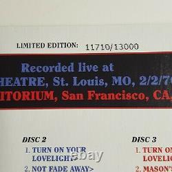 Grateful Dead Dave's Picks 6 Volume Six Fillmore 12/20/1969 Fox SL 2/2/1970 3 CD