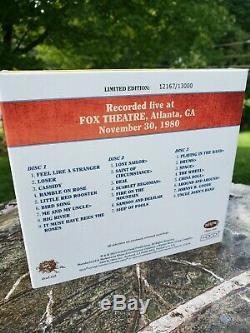 Grateful Dead Dave's Picks 8 Fox Theatre Atlanta GA 11/30/1980 matrix recording