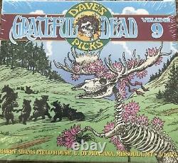 Grateful Dead Dave's Picks 9 Volume Missoula Montana MT Grizzlies 5/14/1974 3 CD