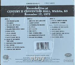 Grateful Dead Dave's Picks Vol 11 Wichita Kansas 11/17/1972 3CD #4118 New Sealed