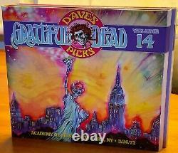 Grateful Dead Dave's Picks Vol 14 with Bonus Disk Like New