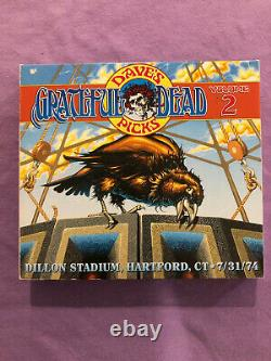Grateful Dead Dave's Picks, Vol. 2 Dillon Stadium, Hartford, CT 7/31/74