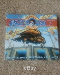 Grateful Dead Dave's Picks Vol. 2 Hartford, CT 7/31/74 Like New Condition