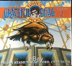Grateful Dead- Dave's Picks Vol 2 WithBonus Disc- Brand New