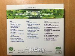 Grateful Dead Dave's Picks Vol 3 Auditorium Theatre Chicago 10/22/71