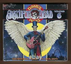 Grateful Dead Dave's Picks Vol. 6 1969/1970 NewithSealed Numbered 4-CD Bonus Set