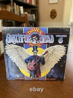 Grateful Dead Dave's Picks Vol 6 SF 12/20/69 + St. Louis 2/2/70 New & Sealed