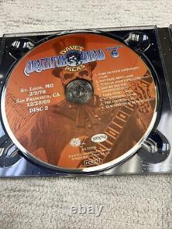 Grateful Dead Dave's Picks Vol 6 Six SF 12/20/69 + St. Louis 2/2/70 NEW SEALED