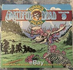 Grateful Dead Dave's Picks Vol 9 Missoula Montana MT Grizzlies 5/14/74 3-CD OOP