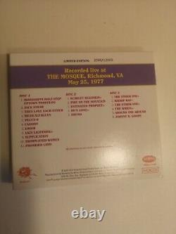 Grateful Dead Dave's Picks Volume 1, The Mosque, Richmond, VA 5/25/77 Numbered