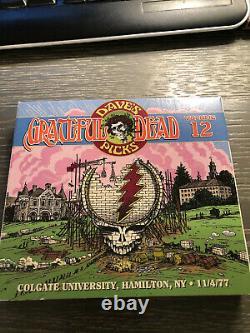 Grateful Dead Dave's Picks Volume 12 Colgate Univers Hamilton NY 11/4/77 3 Cds