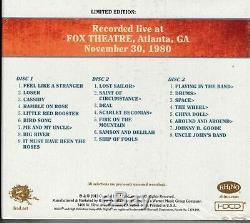 Grateful Dead Dave's Picks Volume 8 Fox Theatre Atlanta Ga 11/30/80 3 Hdcd