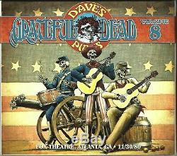 Grateful Dead Dave's Picks vol. 8 Atlanta, GA 12/30/80 Numbered Ed. 3 CDs