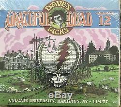 Grateful Dead Daves Picks Volume 12 Hamilton NY 11/4/77 3-CD 11/2/77 Toronto