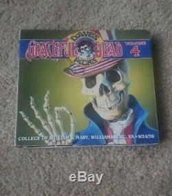 Grateful Dead Daves Picks Volume 4 College of William & Mary 9/24/1976