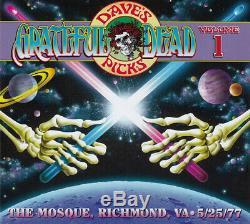 Grateful Dead The Mosque, Richmond, VA 5/25/77 Dave's Picks #1 NEW