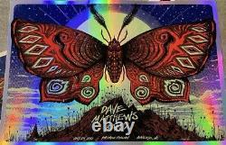 Jeff Soto Dave Matthews Band DMB Charlotte Poster Print Rainbow Foil Art x/65