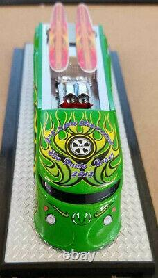 Kustom City By Dave Chang Evo Surf Wagon Series #152of 240 Green Chase Mint &