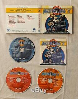 LIMITED EDITION! Grateful Dead Dave's Picks Vol. 5 UCLA 11/17/73 Bill 3-CD SET
