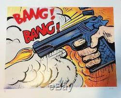 Limited Edition Print'bang Bang!' By Artist Dave White Signed And Numbered