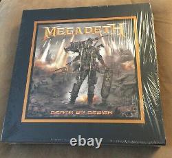 Megadeth Death by Design 4-LP Transparent Vinyl Box Set Dave Mustaine Signed