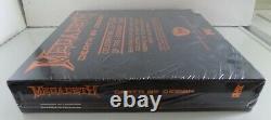 Megadeth NEW Death by Design 4-LP vinyl box set FYE Dave Mustaine signature