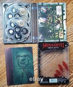 Megadeth Warchest 4 CD 1 DVD Boxset 2007 Big 4 Dave Mustaine Megadave