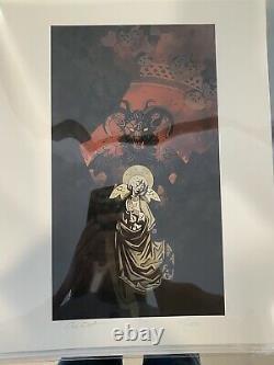 Mike Mignola & Dave Stewart Hellboy Limited Edition Art Prints