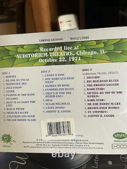 NEW GRATEFUL DEAD CD Dave's Picks, Vol. 3 Chicago Il Illinois Auditorium Theatre