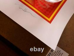 Puscifer. Dave Hunter Betty Boop. Black Light Ink Limited Edition. Not Tool MJK