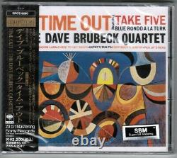 Sealed DAVE BRUBECK Time Out JAPAN 24k GOLD CD SRCS6680 withOBI+PROMO STICKER