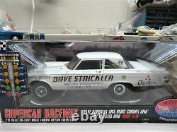 Super Car Collectibles 1/18 Dave Strickler's 1965 Dodge Coronet Hemi Awb