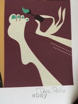 The Big Lebowski Movie Poster Art Print 33/45 The Dude Dave Perillo mondo SDCC