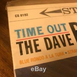 The Dave Brubeck Quartet Time Out 4 × 200g 45 RPM Classic QUIEX SV-P Limited Ed