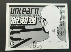 Unlearn 10th Anniversary by Dave Kinsey Signed #d/125 Screen Print Art Poster 09