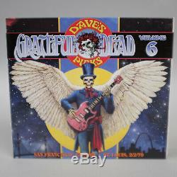 12/20/69 02/02/70 Choix De Grateful Dead Dave Vol 6 CD Avec Bonus (2013) 4 Disc Set