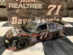 2000 Dave Marcis Autographié #71 Realtree Camouflage Chevy Revel Hoto 1/24