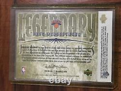 2000 Ud Century Legends Legendary Jerseys Auto Dd-aj Dave Debusschere #48/50