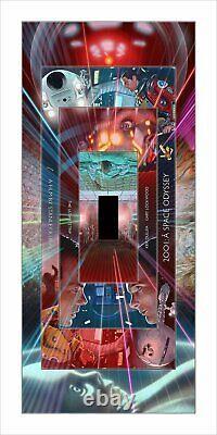 2001 Space Odyssey Dave Neil Davies Régulier Poster Giclée 12x24 Mondo